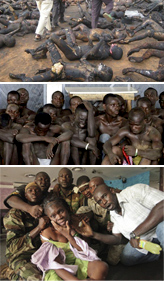 Genocide— mass killings of Pro-Gbagbo supporters